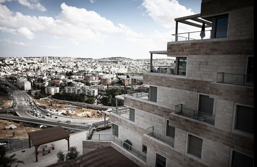 """ירושלים, מבט על בגין, דיור, בנייה, דירות, נדל""""ן (צילום: יובל טבול)"""