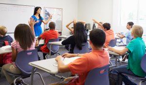 כיתה בתיכון (צילום אילוסטרציה: א.ס.א.פ קריאייטיב / INGIMAGE)