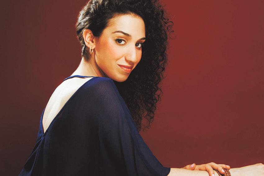 ליאן אהרוני, זמרת אופרה ירושלמית (צילום: Deneka-Peniston)