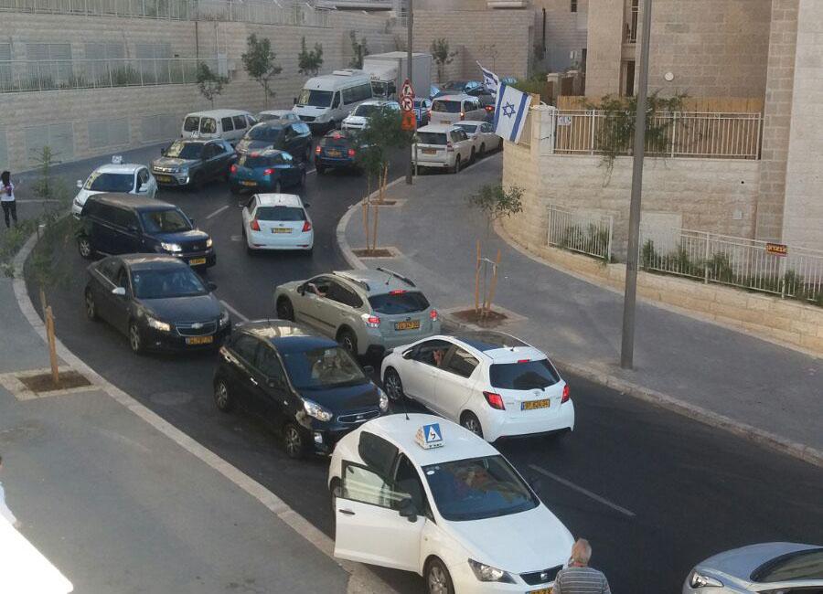 מאבק תושבי משכנות האומה (צילום: פרטי)