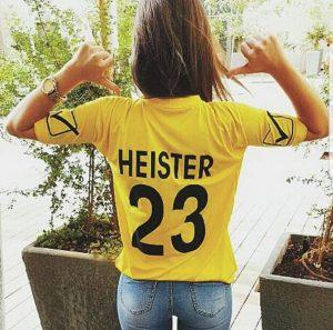 מרתה חברתו של הייסטר (צילום: מתוך אינסטגרם)