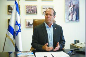 ראש העיר ניר ברקת (צילום: מאיר אליפור)