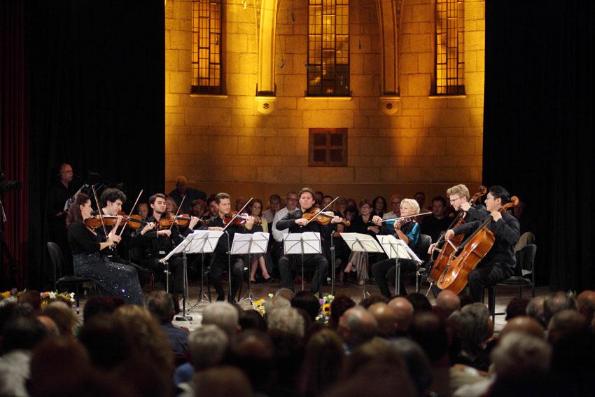 מתוך הפסטיבל למוסיקה קמארית אשתקד (צילום: דן פורגס)