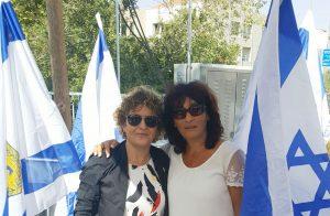 סימה אברהמי ויעל ענתבי (צילום: אביה סבן)