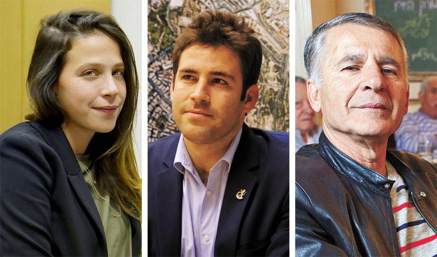דני בונפיל, עופר ברקוביץ, עינב בר (צילומים: אמיל סלמן, שרון גבאי)