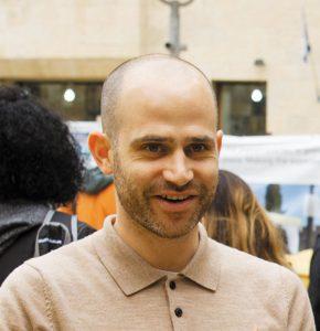 עמית אהרנסון (צילום: ארנון בוסאני)