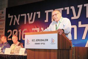 פרופ' רוטשטיין, ועידת ישראל לרפואה 2016 (צילום: ארנון בוסאני)