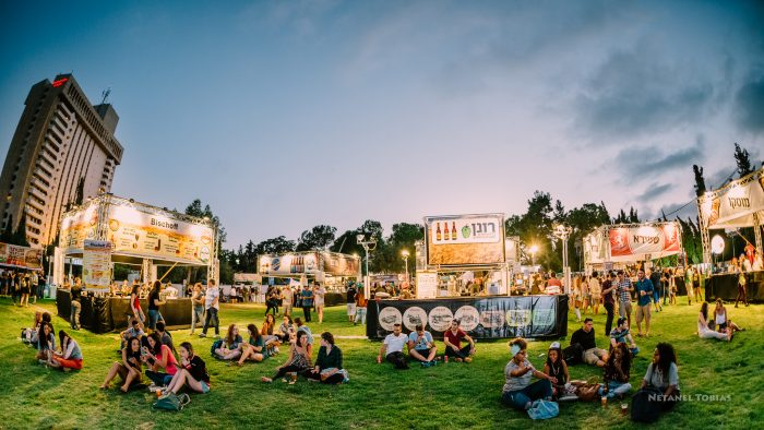 פסטיבל הבירה בירושלים 2016 (צילום: נתנאל טוביאס)