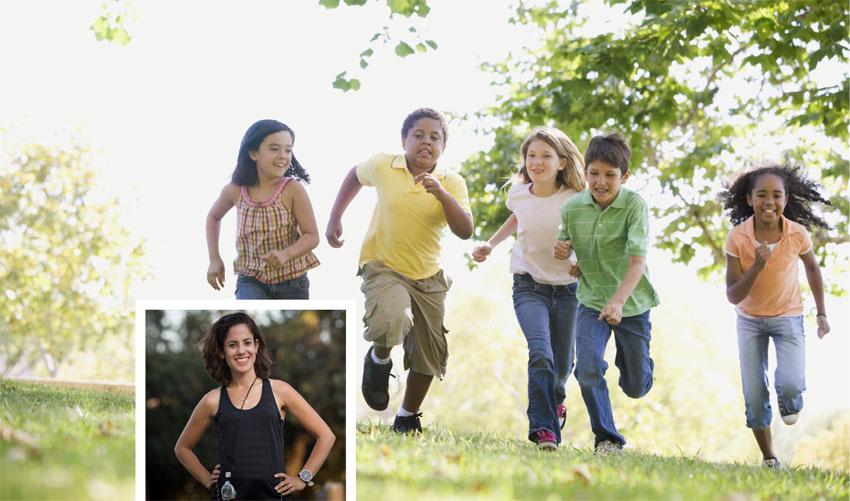 ילדים רצים, רותי זינדל-אוכמן (צילומים: א.ס.א.פ קריאייטיב INGIMAGE, פרטי)