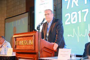 פרופ' יונתן הלוי ועידת ישראל לרפואה 2017 (צילום: ארנון בוסאני)