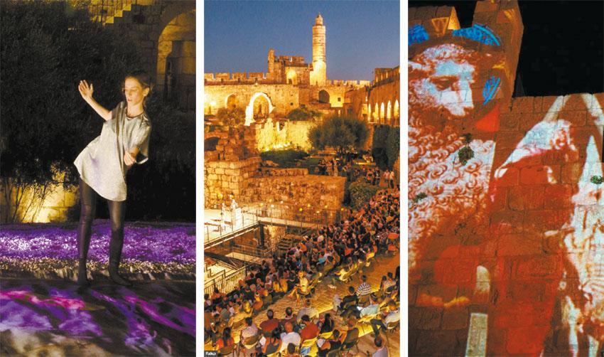 """מוזיאון מגדל דוד, מתוך 'ניילון #3' (צילום: ריקי רחמן, יח""""צ, תומר זמורה וחנן בר אסולין)"""