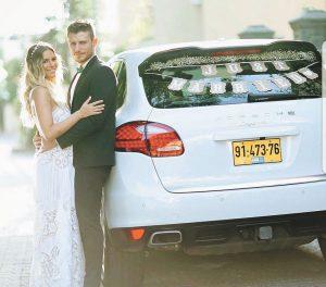 בוריס וליאן קליימן ביום חתונתם (צילום: מתוך אינסטגרם)