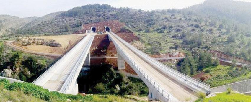 גשרים ומנהרות בתוואי הרכבת (צילום: באדיבות רכבת ישראל)
