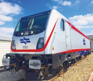 """הקטר שיוביל את הרכבת- TRAXX מתוצרת בומברדייר, בהנעה חשמלית ומגיע למהירות של 160 קמ""""ש"""