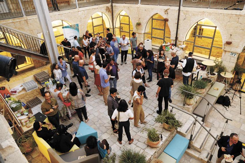 """אירוע השקת """"האקוסיסטם הקולנועי"""" בבית הנסן (צילום: דניאל פרסאי)"""