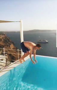 ז'אורז'יניו קופץ ראש (צילום: מתוך אינסטגרם)