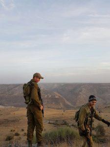 """(מימין) יאיר אמסלם, יעקב מצקין (צילום: דובר צה""""ל)"""