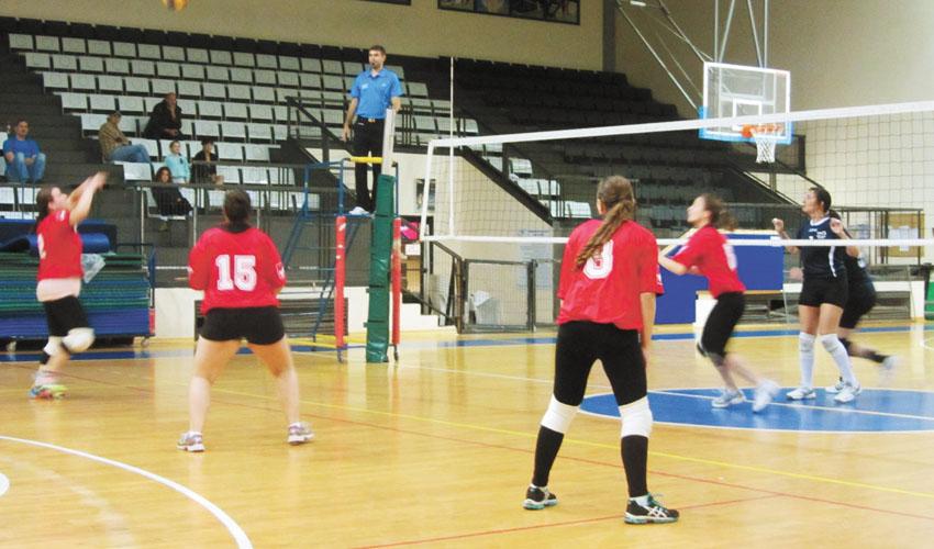 כדורעף נשים (צילום: שרון ארונוף)