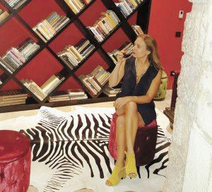 סיגל קליין במלון וילה בראון (צילום:פרטי)