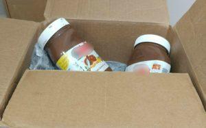 רק נראות תמימות - קופסאות השוקולד שבהן הוסלקו הסמים המסוכנים (צילום: דוברות המשטרה)