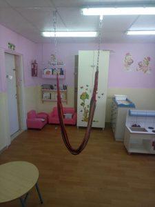 ערסל בגן ילדים (צילום: דוברות המשטרה)
