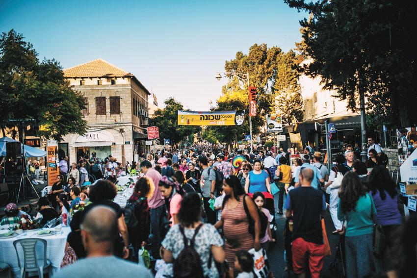 פסטיבל שכונה 'YAD 2 LIVE' בשנה שעברה (צילום: מינהל קהילתי גינות העיר)