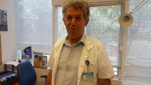 אבחן את התסמונת הנדירה - פרופ' דוד צנגן (צילום: דוברות הדסה)