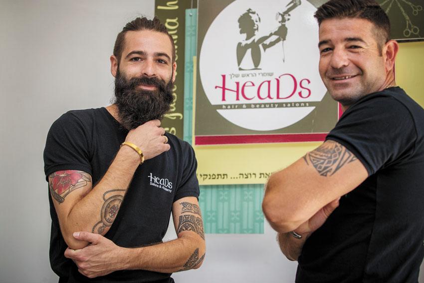 דוד ואלעד קליין (צילום: אורן בן חקון)