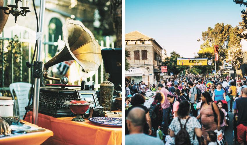 פסטיבל שכונה 'YAD 2 LIVE' בשנה שעברה (צילומים: מינהל קהילתי גינות העיר)
