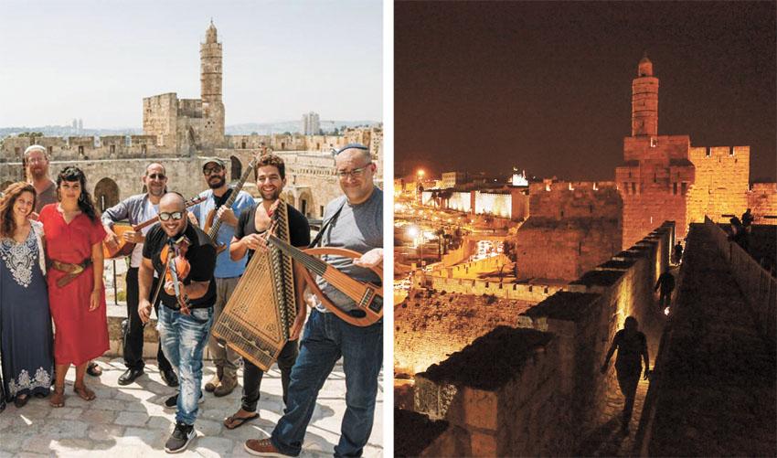 מגדל דוד (צילומים: שניר קציר, ריקי רחמן מוזיאון מגדל דוד)