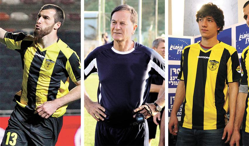 ג'יבראיל קדאייב, אלי כהן, זאור סדאייב (צילומים: AFP, ארנון בוסאני, שרון בוקוב)