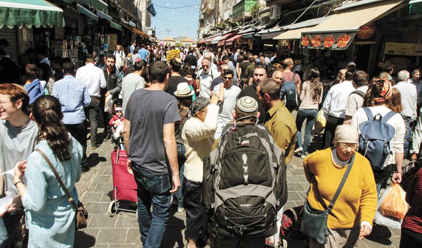 ראש השנה בפתח: שוק מחנה יהודה ערוך ומוכן לחג
