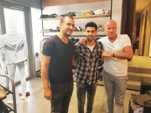 דני חבבו, שלומי קוריאט, אבי כהן (צילום: מתוך פייסבוק)