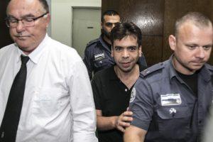 רפי כהן הארכת מעצר (צילום: תומר אפלבאום)