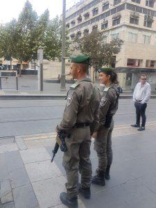 כוננות המשטרה בעיר (צילום: דוברות המשטרה)