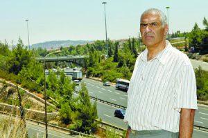 אריה שמם, ראש מועצת מבשרת ציון לשעבר (צילום: מיכל פתאל)