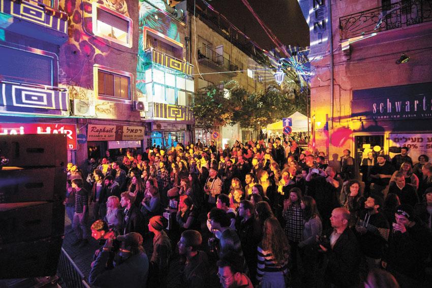 פסטיבל אינדי סיטי ירושלים בשנה שעברה (צילום: אלישע ברודסקי ועומר בורין)