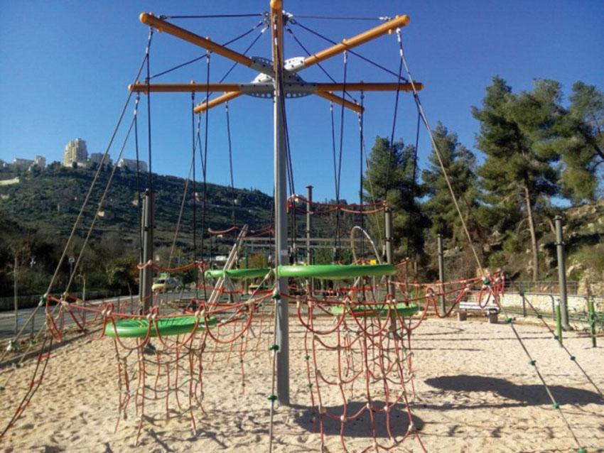 גן המצודה פארק ארזים (צילום: הרשות לפיתוח ירושלים איתי מוניקדם)