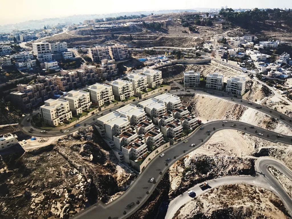 תוכנית הבנייה בשכונת נוף ציון (הדמיה: דוברות עיריית ירושלים)