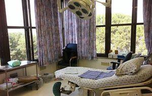 חדר יולדות בהדסה הר הצופים (צילום: אבי חיון)
