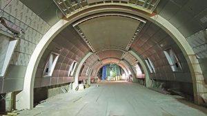 חחנת יהרכבת המהירה (צילום: דוברות רכבת ישראל)