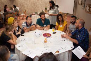 מתוך הכנס העירוני לסיוע לנערים חסרי בית בירושלים (צילום: אביגיל פיפרנו באר)