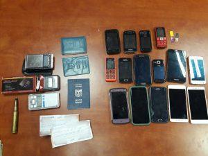 סמים שנתפסו אחרי מעקב אפליקציית טלגראס (צילום: דוברות המשטרה)