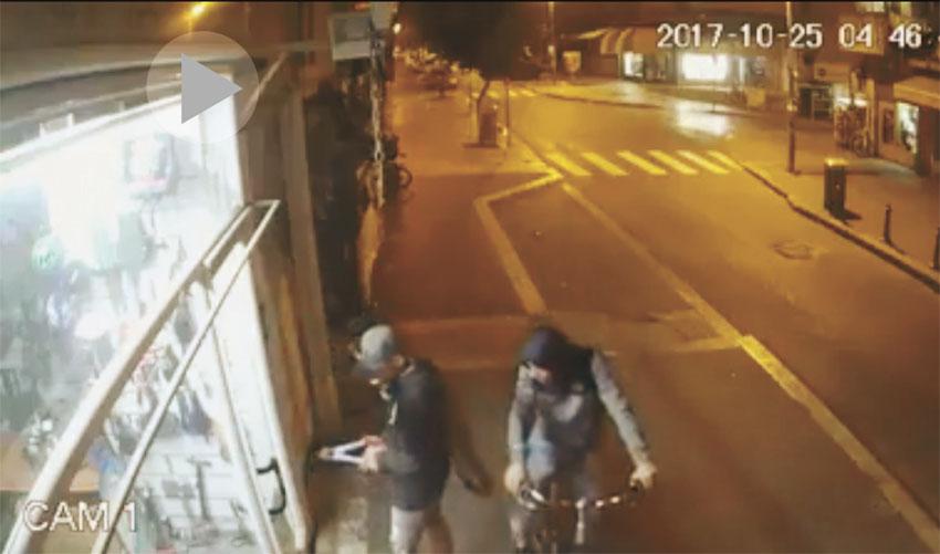 פריצה לחנות אופניים במאה שערים