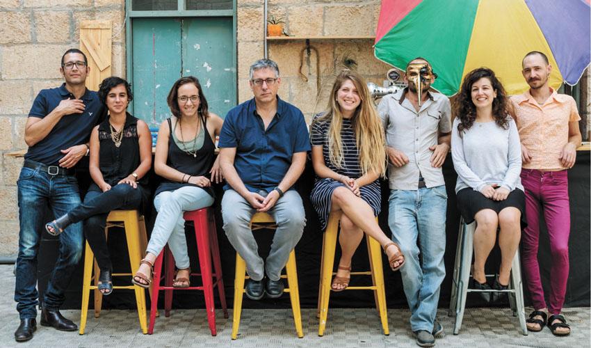 עשור לפסטיבל השירה הירושלמי 'מטר על מטר'