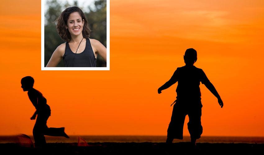 רותי זינדל-אוכמן, ילדים רצים (צילומים: פרטי, א.ס.א.פ קריאייטיב/INGIMAGE)