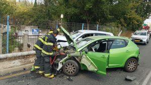 """תאונה ניות (צילום: דוברות זק""""א)"""