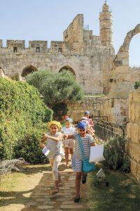 פעילות סוכות במוזיאון מגדל דוד (צילום: ריקי רחמן)