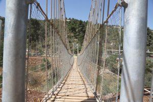 גן החבלים בפארק ארזים (צילום: הרשות לפיתוח ירושלים איתי מוניקדם)