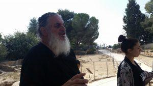 רון דותן - רכז שיווק תיירות רמת רחל (צילום: פרטי)
